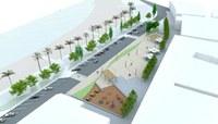 Imatge virtual urbanització plaça Catalunya