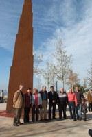 Inauguració escultura Far Ziggurat de Narcís Costa.