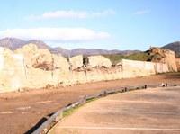 Inici obres muralla est Ciutadella