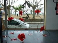 L'escultura que s'exposa al hall