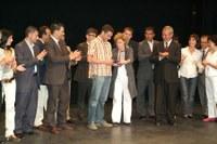 LLuirament de la Dracma de Plata a Roger Viusà i Barbarà. 15 agost de 2008.