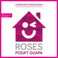 "Logo campanya ""Roses, posa't guapa"""