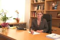 Magda al despatx