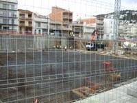 Obres esplanada Hotel Goya