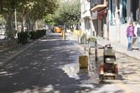 Obres vorera pl. Catalunya