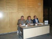 Presentació del catàleg de l'exposició La Costa Brava abans de la Costa Brava. 19 de setembre de 2008.