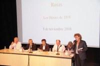 Presentació del llibre El setge de Roses de 1808 dins dels actes del Bicentenari de la Guerra del Francès. 8 de novembre de 2008.