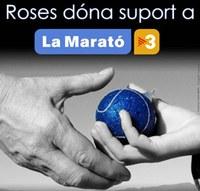 Roses amb la Marató de TV3
