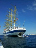 Royal Clipper visita Roses