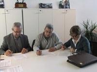 Signatura conveni cessió