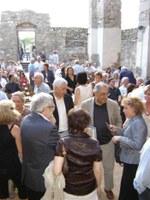 Un moment de la presentació del llibre a la Ciutadella