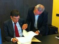 visita conseller Lluís Recoder