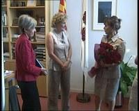 Visita de la Sra. Montse Palma i Sra. Pia Bosch a l'Ajuntament de Roses