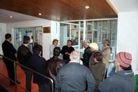 Visita delegació confraria