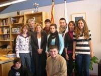 Visita d'un grup d'alumnes de 4t d'ESO del Centre Escolar Empordà