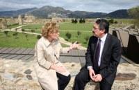 Visita Sr. Vilert, president de la Diputació de Girona