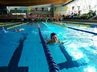 170 participants a la Trobada de natació per a persones amb discapacitat intel·lectual celebrada a Roses