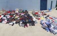 Comissats 8 vehicles i material per valor de 50.000€ en un nou operatiu policial conjunt a Roses