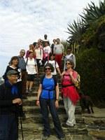 Alumnes de català i parelles lingüístiques coneixen l'entorn natural de Roses