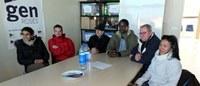 Alumnes de català i parelles lingüístiques participen en un Taller sobre la història de la navegació al GEN Roses