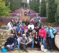 Alumnes de català i parelles lingüístiques visiten el Museu del Mar de Lloret i el Jardí Botànic Marimurtra de Blanes