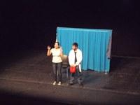 """Alumnes dels instituts de Roses debaten sobre l'alimentació a partir de l'obra """"Nyam-Nyam"""""""