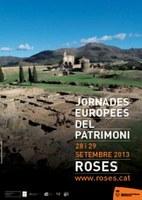 Àmplia programació per celebrar les Jornades Europees del Patrimoni a Roses