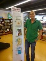 """Àngel Burgas és l'autor """"De Capçalera"""" de la Biblioteca de Roses"""