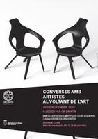 Ca l'Anita apropa el públic a pintors i artistes amb una taula rodona i la visita al taller d'Antoni Federico