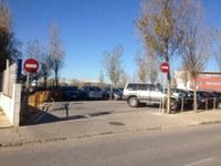 Canvi en els accessos a l'aparcament de l'Institut Illa de Rodes
