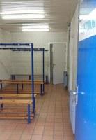 Comença la renovació dels vestidors del Pavelló Poliesportiu de Roses