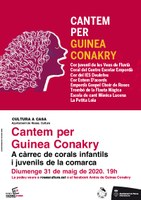 Concert virtual pro Guinea Conakry, la solidaritat rosinca no s'atura