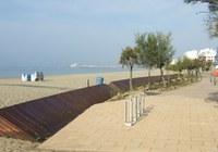 Culmina la millora de més de 2 km del passeig Marítim de Roses