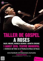 "El director del ""London Gospel Choir"" imparteix el Taller de Gospel 2015 a Roses"