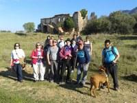Els alumnes de català de Roses visiten la ruta dels olivars i la ruta dels masos i les carrerades