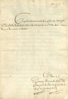 Els capítols matrimonials de la família Arola-Recasens, document del mes de l'AMR