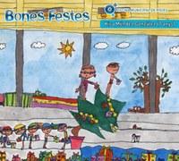 Els petits nedadors de Roses dibuixen el Nadal