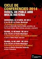 Enric Pujol participa en el cicle de confències 'Roses, un poble amb molta història'