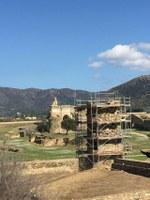 Es consolida la torre Medieval de la Ciutadella de Roses, que també es farà visitable