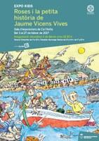 Expo Kids a Ca l'Anita: una exposició i un llibre difonen la figura de Jaume Vicens Vives i el seu vincle amb Roses