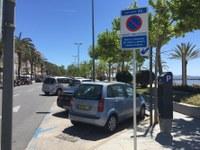 Finalitza el període de zona blava a Roses, que recupera 500 places d'aparcament gratuït