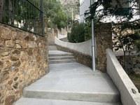 Finalitza l'arranjament entre els carrers del Greco i l'avingudaSantaBàrbara