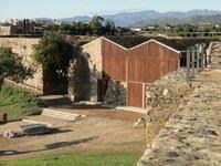 Finalitza la rehabilitació del baluard de Sant Andreu