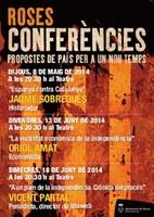 Jaume Sobrequés participa en el cicle de conferències de Roses