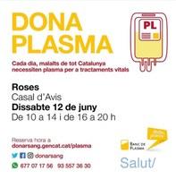 Jornada de donació de plasma a Roses