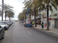 L'Ajuntament de Roses repara prop de 3.000 desperfectes detectats a la via pública durant 2014