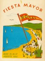 L'Arxiu Municipal de Roses presenta la Revista de Festa Major de 1954, la més antiga que conserva en paper