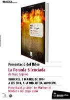 La Biblioteca de Roses presenta 'La paraula silenciada', de Marc Grijalvo