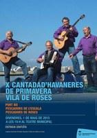 La Cantada d'Havaneres de Roses arriba al seu 10è aniversari
