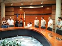 La consellera Dolors Bassa realitza una visita a l'Ajuntament de Roses